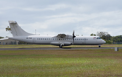 9M-TAQ LEASED TO AIRLINES OF PNG . ATR-72-500