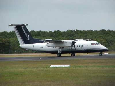 P2-MCJ AIRLINES OF PNG DASH-8-100
