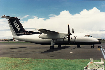 P2-MCH MILNE BAY AIRLINES DASH-8-100