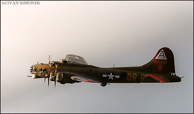 """FLYING FORTRESS"",B-17G,Wrangell,Alaska,USA."