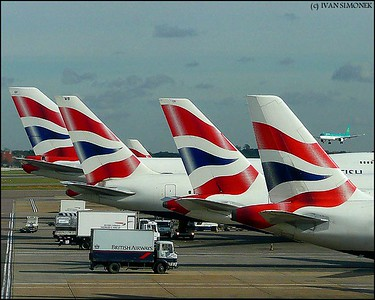 """HEATHROW"", London, UK."