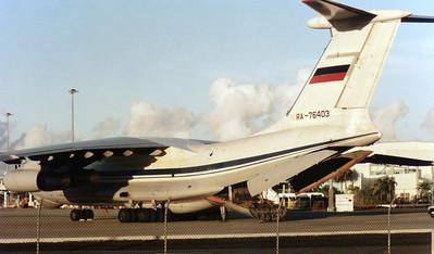RA-76403 AEROFLOT IL-76TA
