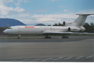 LZ-BTN BULGARIAN AIRLINES TU-154M