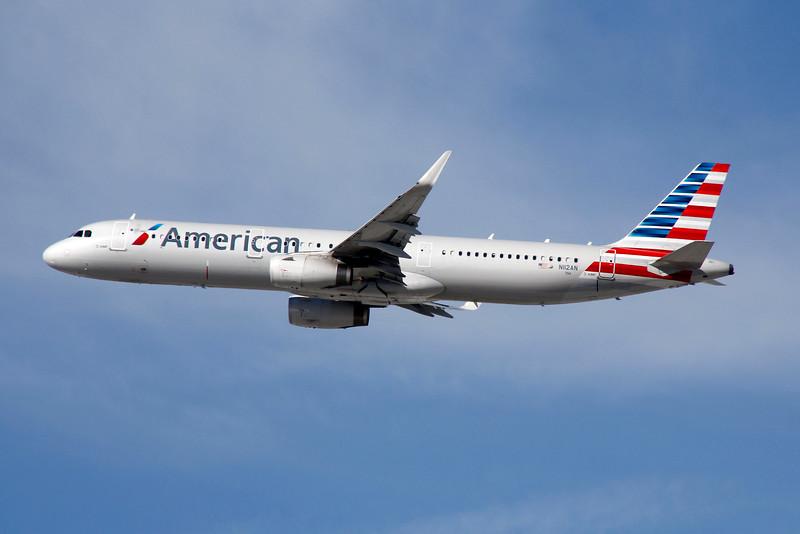 N112AN AMERICAN A321