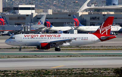 N840VA VIRGIN AMERICA A320