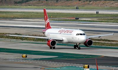 N633VA VIRGIN AMERICA A320
