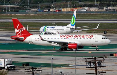 N361VA VIRGIN AMERICA A320