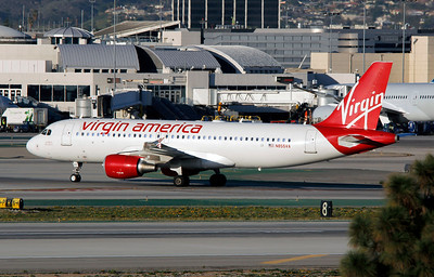 N855VA VIRGIN AMERICA A320