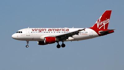 N522VA VIRGIN AMERICA A319