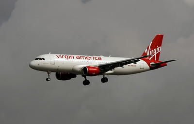 N854VA VIRGIN AMERICA A320