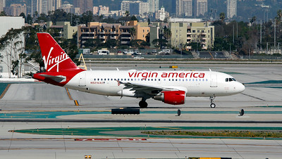 N521VA  VIRGIN AMERICA A319