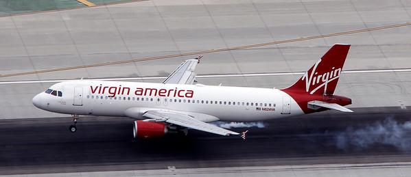 N624VA VIRGIN AMERICA A320
