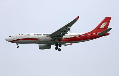 B-6545 SHANGHAI AIRLINES A330-200