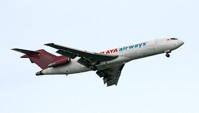 9M-TGE RAYA AIRWAYS B727-200F
