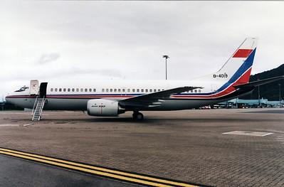 B-4019 CHINA UNITED (GOVERNMENT)  B737-300