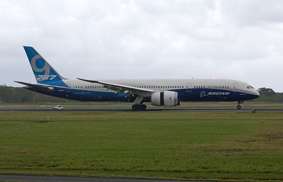 N789FT BOEING B787-9 TEST AIRCRAFT