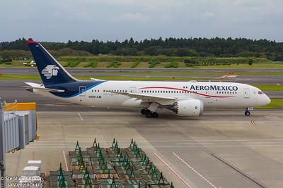 N961AM AERO MEXICO B787-8