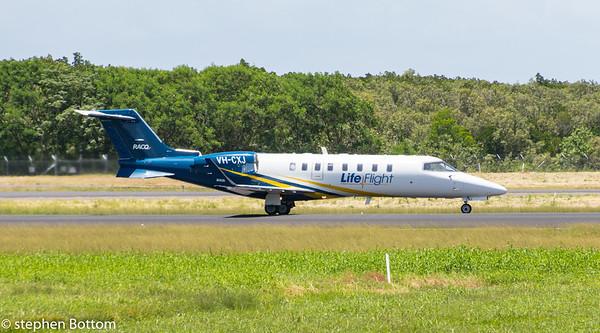 VH-CXJ LIFE-FLIGHT LEARJET-45