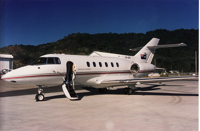 VH-SGY QUEENSLAND GOVERNMENT  HAWKER-800XP