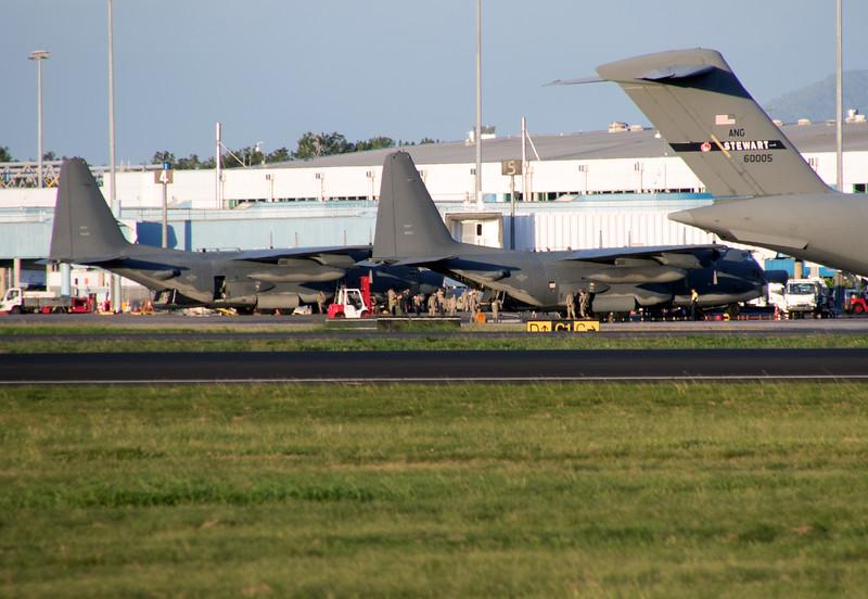 90280 USAF C-130<br /> 60005 USAF C-17<br /> 67322 ANG C-130