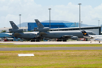 86-0029 AND 79-1951 USAF KC-10 TANKERS