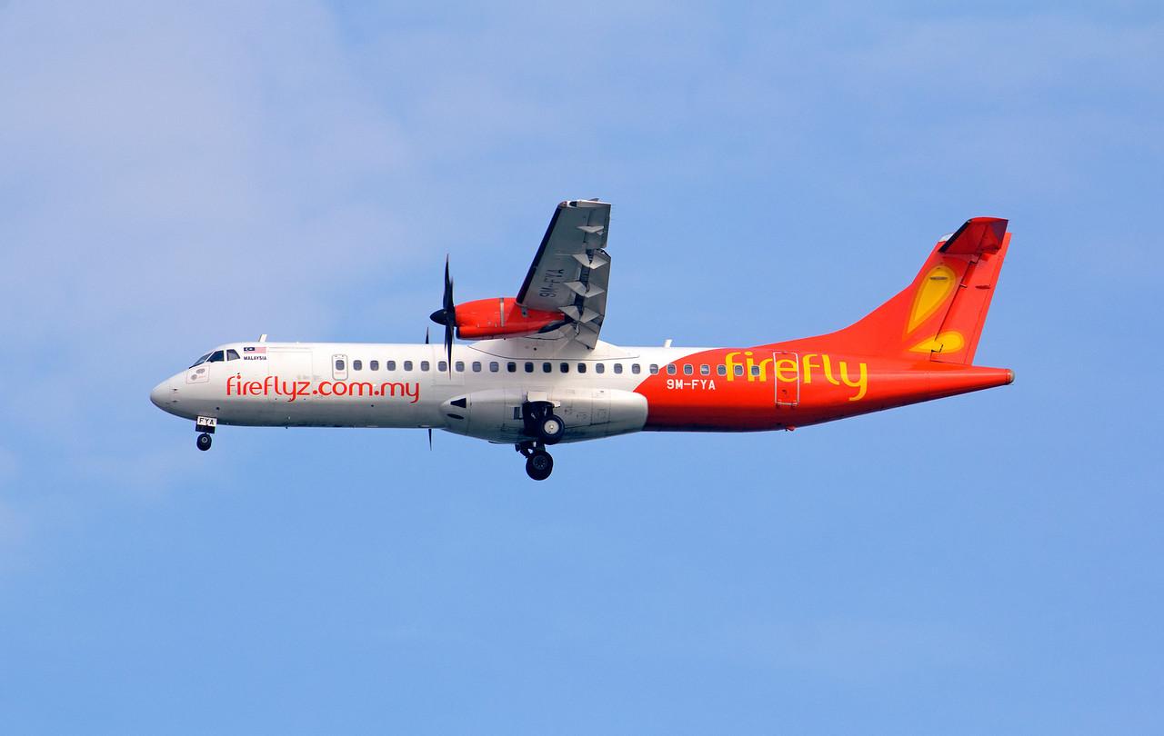 9M-FYA FIREFLY ATR-72-500