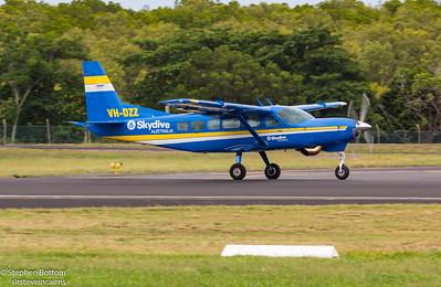VH-DZZ SKYDIVE AUSTRALIA C-208