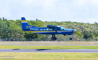 VH-DZZ SKYDINE AUSTRALIA C-208