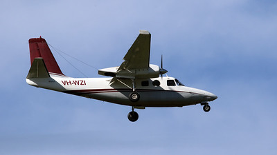 VH-WZI FLIGHTECH AERO COMMANDER-500S