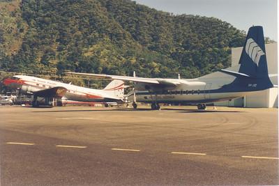 VH-JCC AIR CRUISING FOKKER F-27
