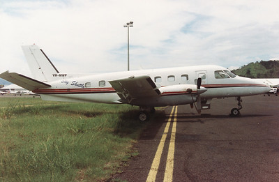 VH-MWF SKY SHUTTLE EMB-1011