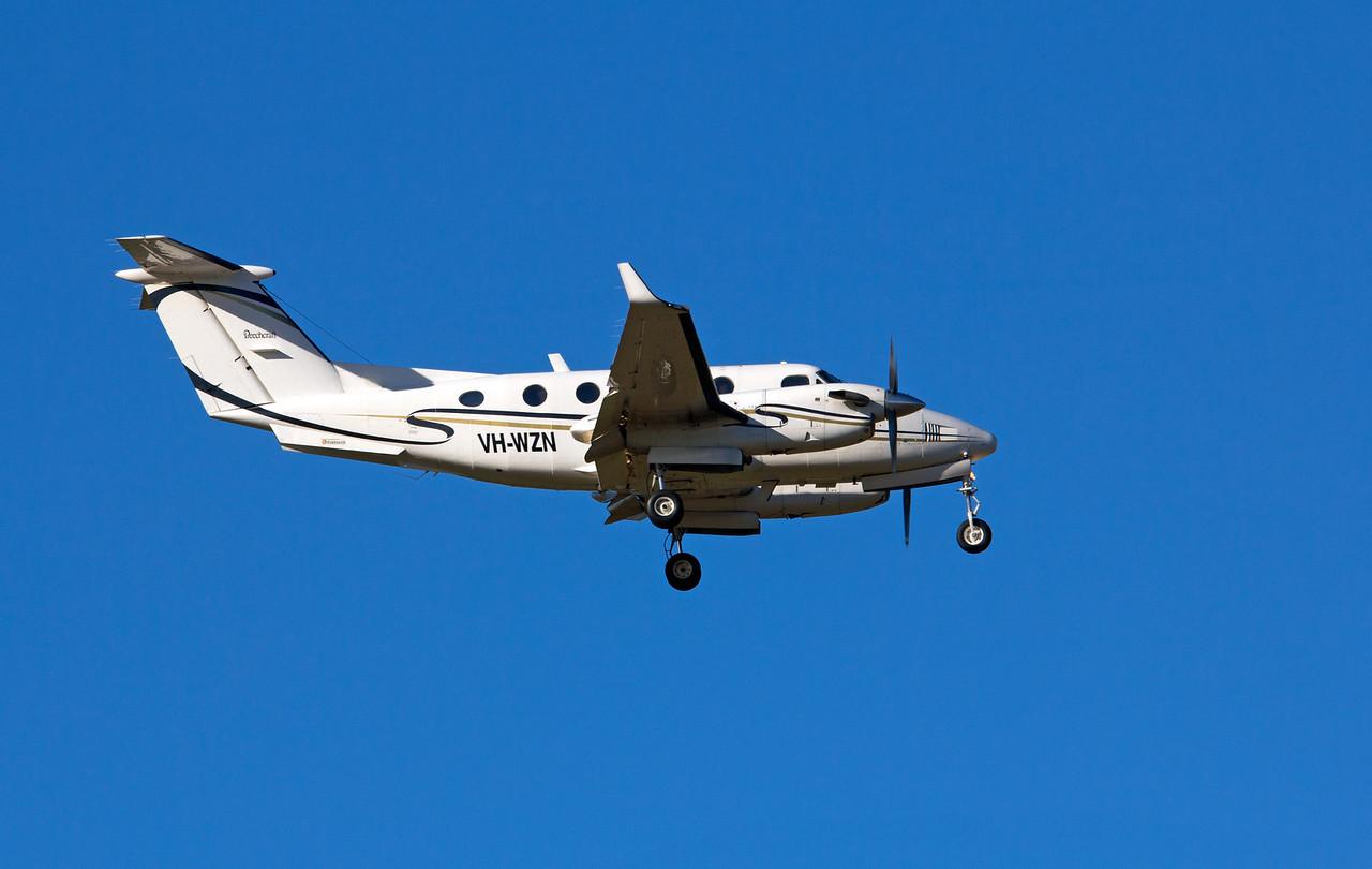 VH-WZN FLIGHTECH KING AIR-200