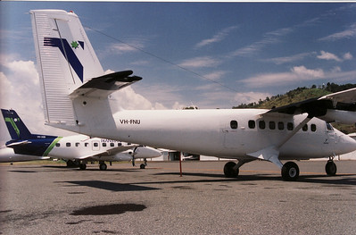 VH-FNU TRANS STATE TWIN OTTER