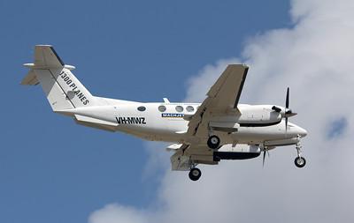 VH-MWZ McDERMOTT AVIATION KING AIR-200B