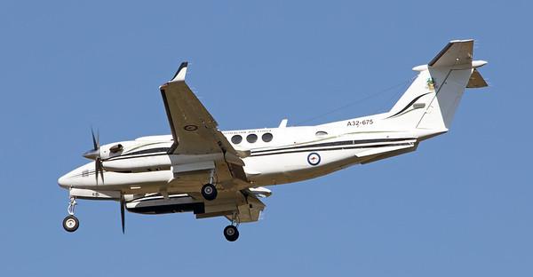 A32-675 RAAF KING AIR