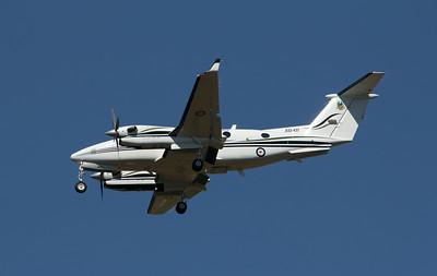 A32-437 RAAF KING AIR