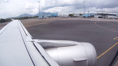 Cairns to Darwin  Jetstar-57 Go-Pro HD video