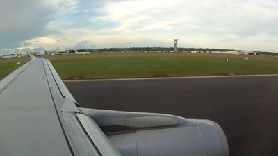 Darwin to Singapore on Jetstar-57 Go-Pro HD