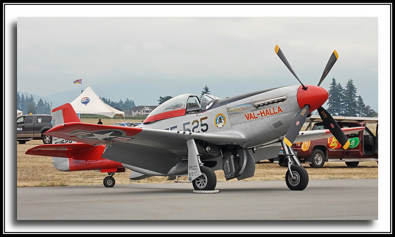 "P-51D Mustang ""Val-Halla"" - likely built about 1944."