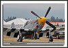 "P-51B Mustang ""Evoi"" - likely built about 1942."