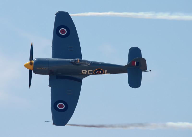 """Hawker Sea Fury FB.11 """"Argonaut"""" with P&W engine"""