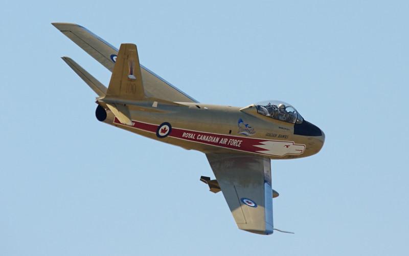 Hawk One - Canadair F-86 Sabre 5.  Vintage 1950's Korean War fighter.