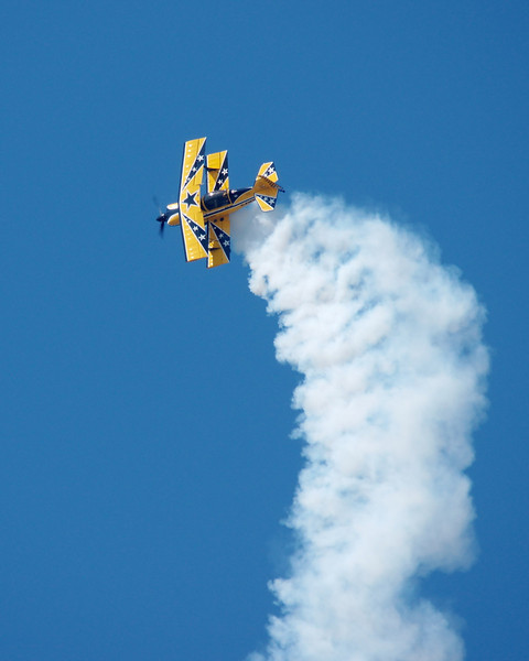 Dave Mathieson in his Pitts Special