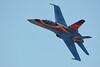 CF-18 Hornet TAC demo