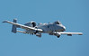 A-10 Warthog (lost a wing panel here and aborted)