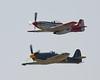 """P-51D Mustang """"Val-Halla"""" + Hawker Sea Fury """"Argonaut"""""""