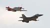 Heritage Flight - P-51D and F-16