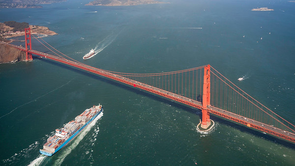 Golden Gate Bridge, San Francisco, California. 140906.
