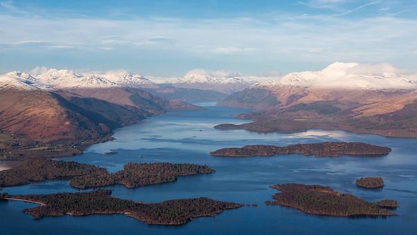 Loch Lomond, Scotland, 080118.