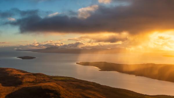 Arran. S.W. Scotland.